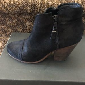 Rag and Bone Black Booties